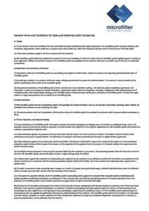 General-Terms-and-Conditions-for-Sales-and-Delieveries   microfilter